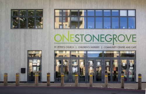 OneStonegrove Entrance - Front